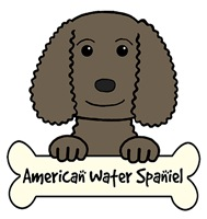 American Water Spaniel Cartoon T-Shirts and Gifts