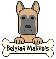 Belgian Malinois Cartoon T-Shirts and Gifts
