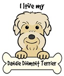 Mustard Dandie Dinmont Terrier Cartoon