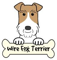 Wire Fox Terrier Cartoon T-Shirts and Gifts