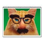 Animal Antics Cat Wall Calendar - 12 images