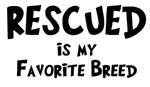 Rescued Favorite Breed
