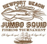 Jumbo Squid Fishing