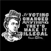 Emma Goldman Voting