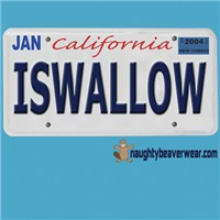 ISWALLOW License Plate