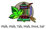 Walk, Talk, Drink, Eat