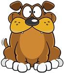 Cartoon Grinning Dog