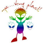 Wrong Planet Alien