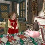 Little Red Riding Hood - At Grandma's