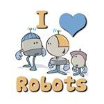 I Heart (love) Robots