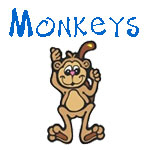 Cute Monkey Designs