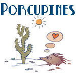 Cute Porcupine Designs