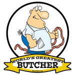 WORLDS GREATEST BUTCHER CARTOON