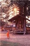 Sunny Buddist Shrine