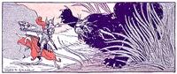 Tom Thumb vs Black Cat