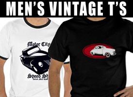 Men's Vintage Style T's