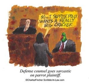Parrot Plaintiff Wants Money