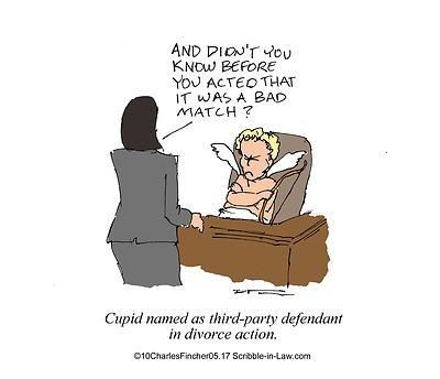 Cupid Sued In Divorce