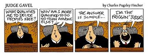 Judge Gavel: I Am the Judge