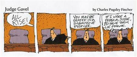 Judge Gavel Be Seated