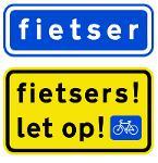 fietsers let op!