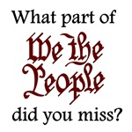 What part of We the People did you miss?