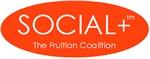Social+ Orange Oval