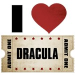 I Heart Dracula Ticket