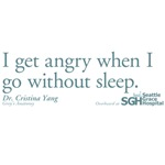 I get angry... - Grey's Anatomy Quote
