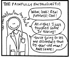 The Painfully Enthusiastic