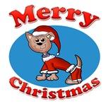 Merry Christmas Santa Pup