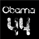 Vintage Retro Obama 44