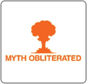 Not only is the myth from the Myth Busters busted, it is Obliterated.  This is an officially licensed tshirt design from the Myth Busters television series.