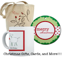Christmas Cards and Gifts! (2 Designs)