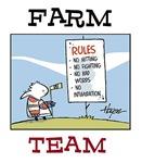 Rory on the farm team.