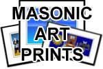 Elegant Framed Masonic/OES Art Prints
