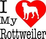I Love My Rottweiler