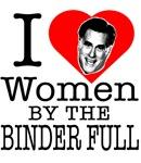 Mitt Romney: I Love Women By The Binder Full