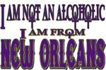 not an alcoholic...