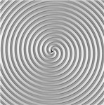 Silver 3D Spiral Designs