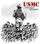 USMC ENDURING FREEDOM 1 T-Shirts & Gifts