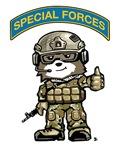 SPECIAL FORCES BEAR Multicam