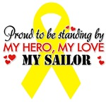 Proudly standing by my Sailor