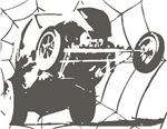 Vintage Grunge Wheelstand