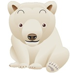 Cuddly Polar Bear T-Shirts and Gifts