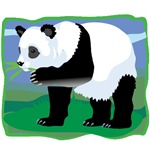 Jungle Panda Bear T-shirts and Gifts