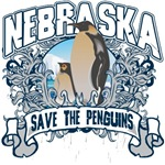 Save the Penguins Nebraska T-Shirts and Gifts