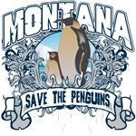 Save the Penguins Montana T-Shirts and Gifts