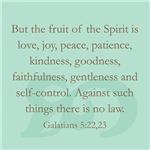 Galatians 5:22,23