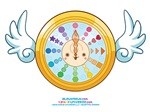 Kawaii Time Fly Clock 2010